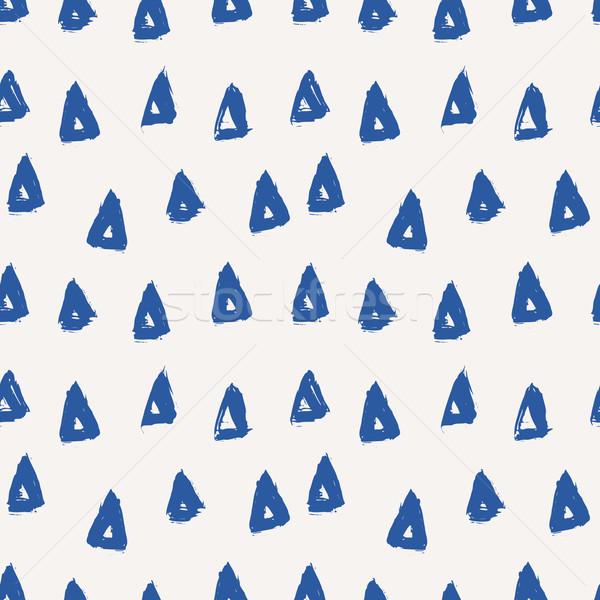 Foto d'archivio: Abstract · mano · verniciato · triangolo
