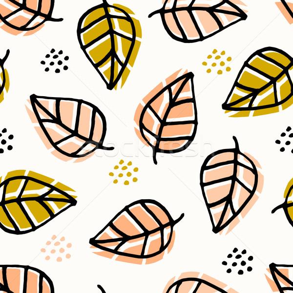 Seamless Autumn Pattern Stock photo © ivaleksa