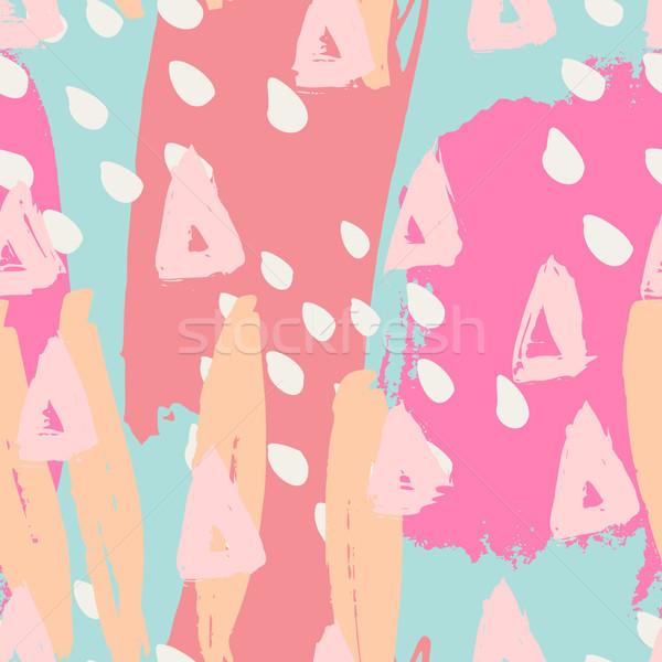 Seamless Abstract Pattern Stock photo © ivaleksa