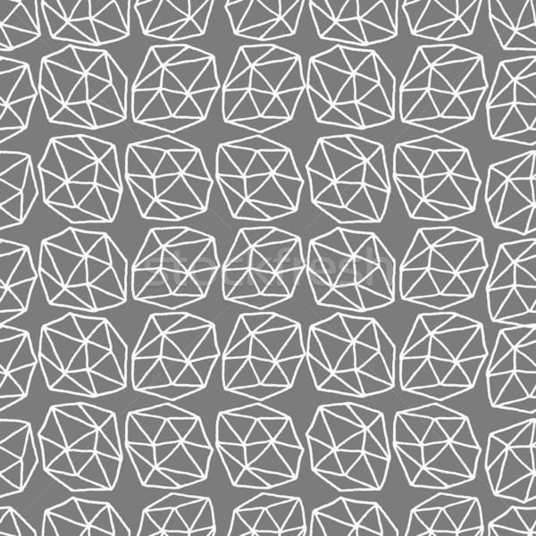 Abstract Polygons Seamless Pattern Stock photo © ivaleksa