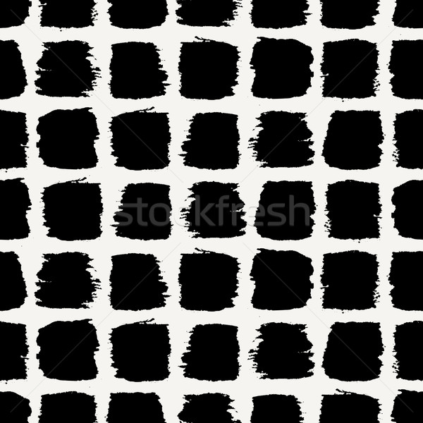Brush Strokes Seamless Pattern Stock photo © ivaleksa
