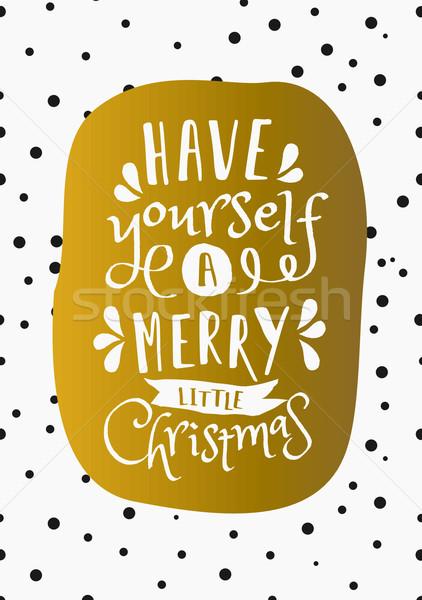 Foto stock: Natal · cartão · modelo · projeto · você · mesmo · alegre
