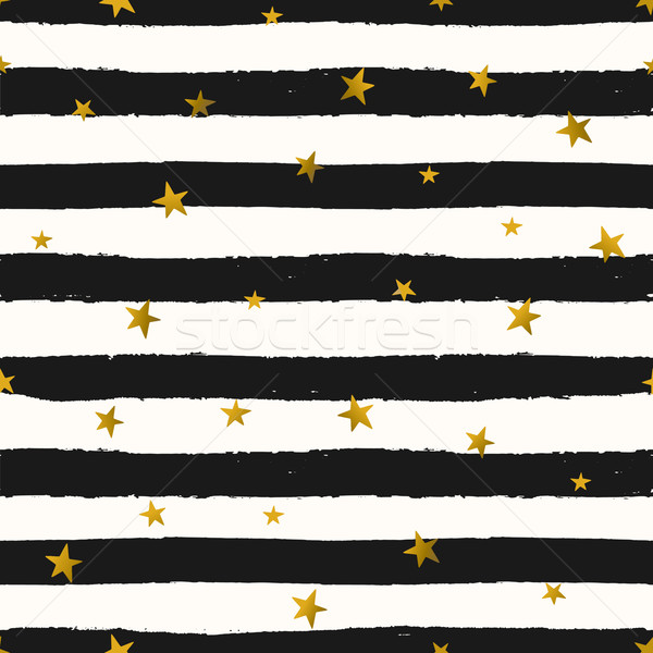 Gwiazdki bezszwowy powtarzać wzór Zdjęcia stock © ivaleksa