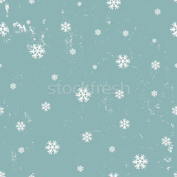 Snowflakes Seamless Pattern Stock photo © ivaleksa