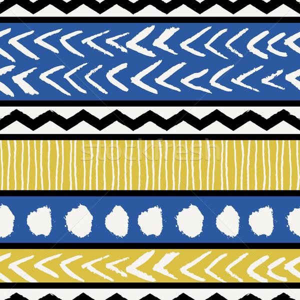 Stock photo: Ethnic Seamless Pattern