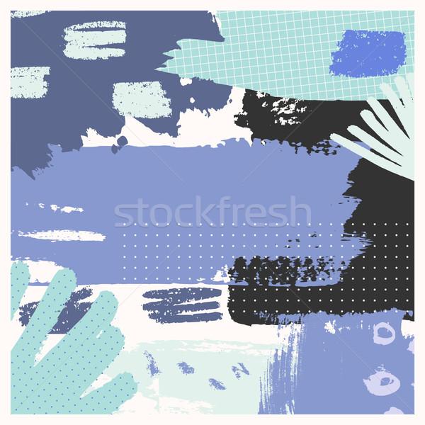 Hand Drawn Abstract Design Stock photo © ivaleksa