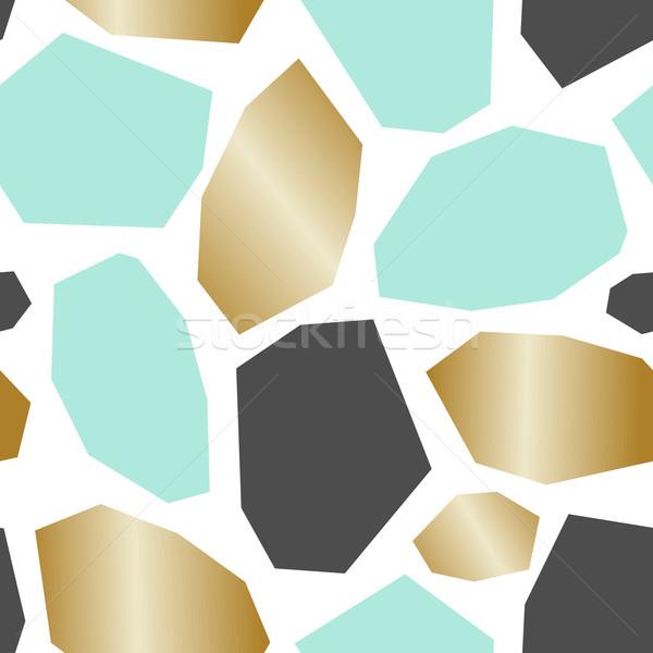 Abstract disegno geometrico senza soluzione di continuità ripetizione pattern geometrica Foto d'archivio © ivaleksa