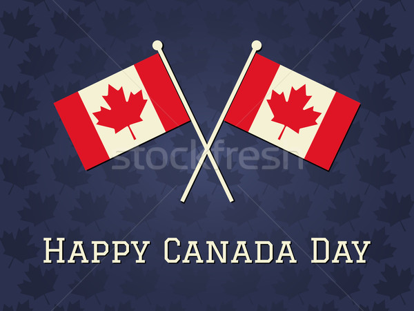 Happy Canada Day Card Stock photo © ivaleksa