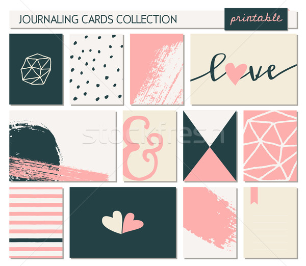 Greeting Card Templates Collection Stock photo © ivaleksa