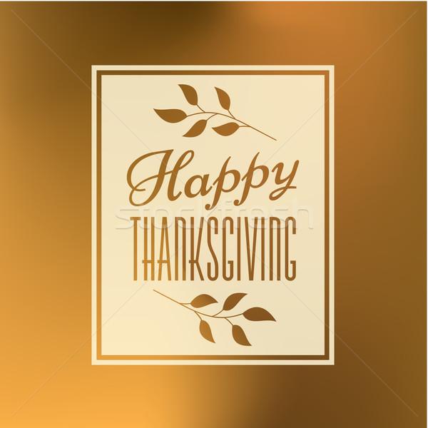 Thanksgiving Day Card Stock photo © ivaleksa