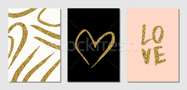 Valentine's Day Designs Set Stock photo © ivaleksa