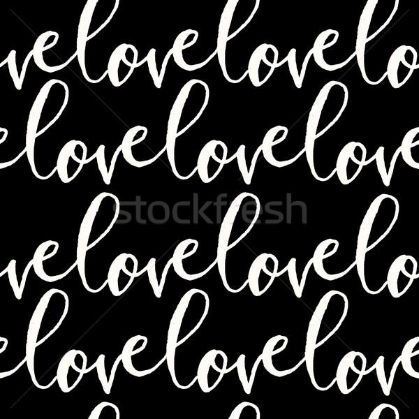 Love Seamless Pattern Stock photo © ivaleksa