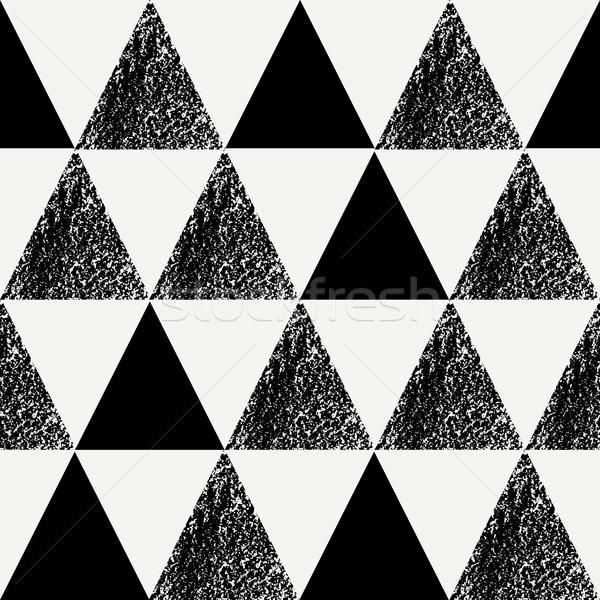 シームレス パターン 三角形 ストックフォト © ivaleksa