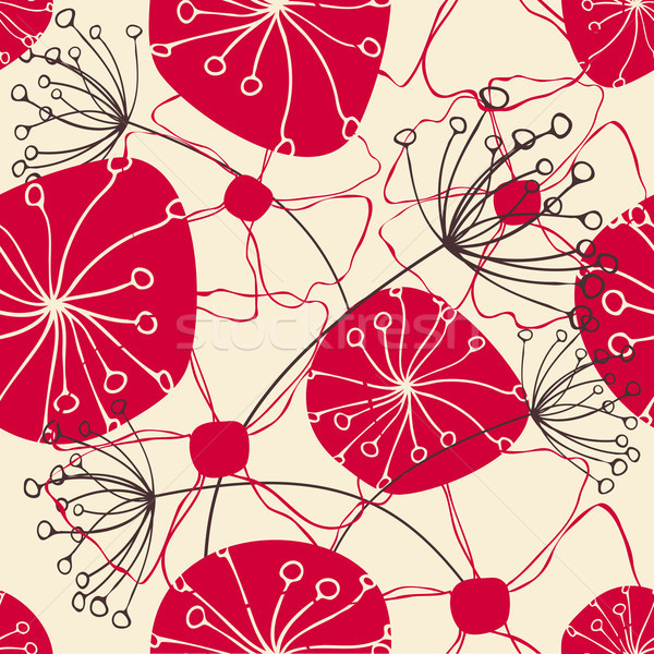Seamless Floral Pattern Stock photo © ivaleksa