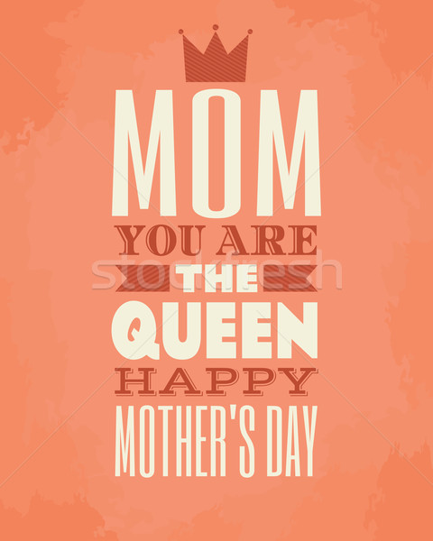 Mother's Day Card Stock photo © ivaleksa