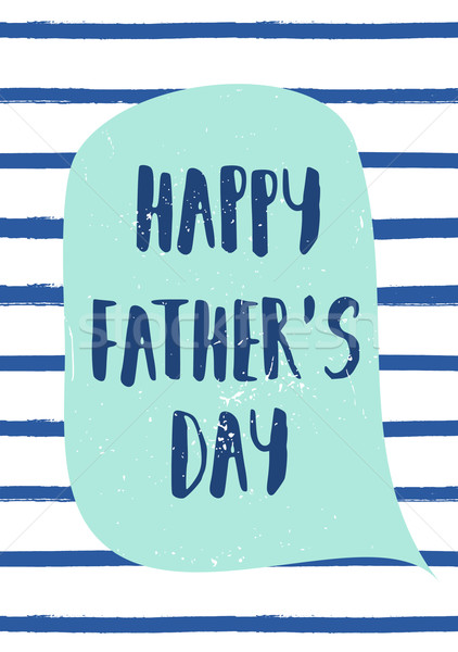 Father's Day Card Design Stock photo © ivaleksa