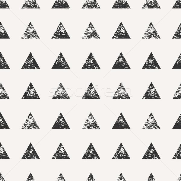 Abstract forme acquerello disegno geometrico Foto d'archivio © ivaleksa