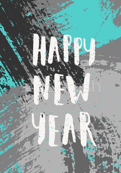 Abstract Happy New Year Design Stock photo © ivaleksa