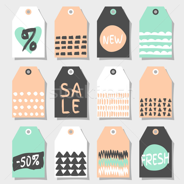 Abstract Shopping and Sales Label Designs Stock photo © ivaleksa