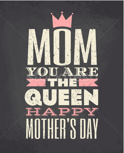 Mother's Day Greeting Card Stock photo © ivaleksa