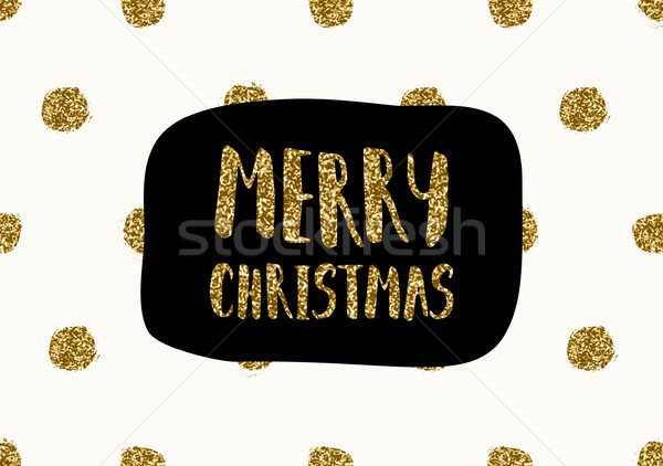 Christmas Greeting Card Template Stock photo © ivaleksa