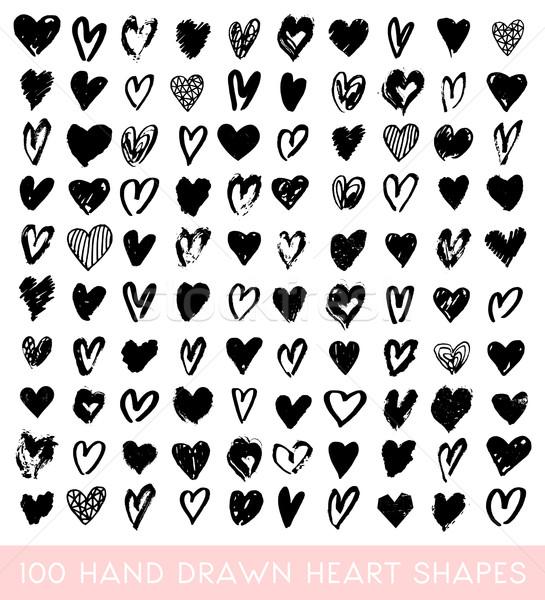 Heart Shapes Collection Stock photo © ivaleksa