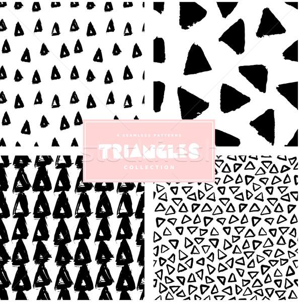 Muster Sammlung Set vier Wiederholung Stock foto © ivaleksa