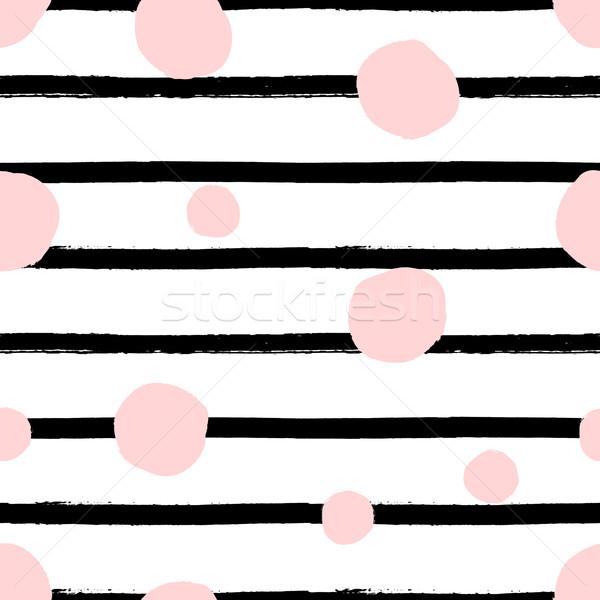 Dots Seamless Pattern Stock photo © ivaleksa