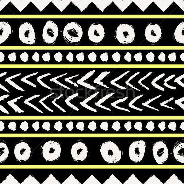 Tribal Seamless Pattern Stock photo © ivaleksa