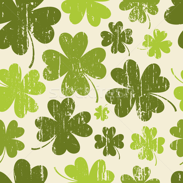 St. Patrick's Day Seamless Pattern Stock photo © ivaleksa