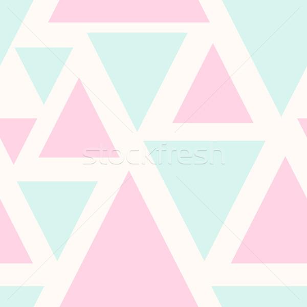Résumé modèle triangle Photo stock © ivaleksa