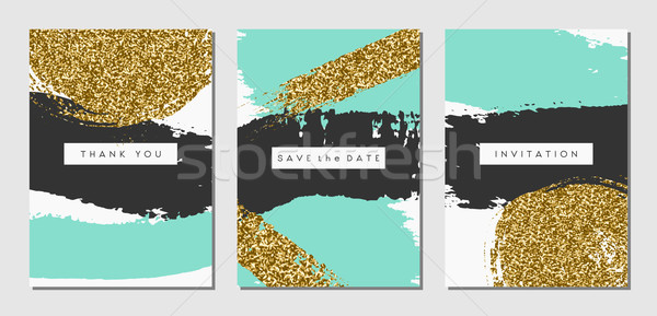Stock photo: Abstract Design Cards Set