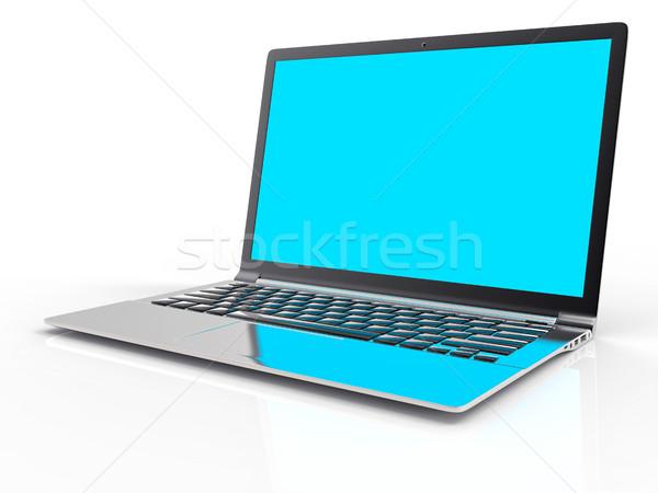 3D portable isolé ordinateur design Photo stock © IvanC7