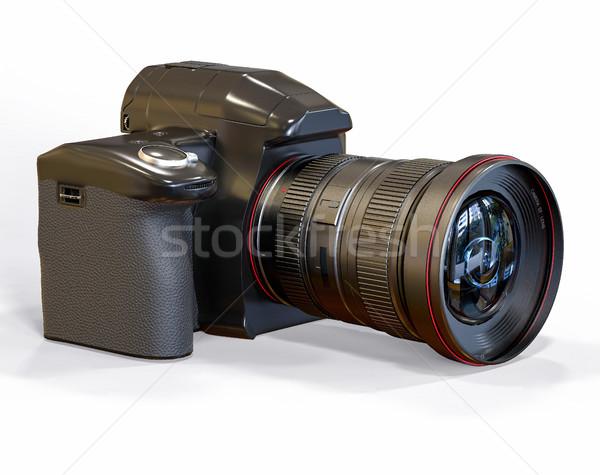 Isolé 3D professionnels caméra illustration photographie Photo stock © IvanC7