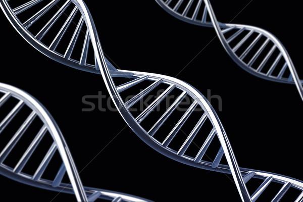 3D ДНК спираль аннотация технологий здоровья Сток-фото © IvanC7