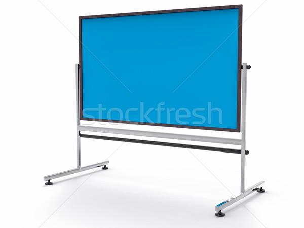 3D Université bord bleu affaires Photo stock © IvanC7