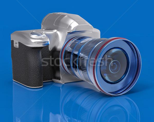Isolated 3D Professional Camera Illustration Stock photo © IvanC7