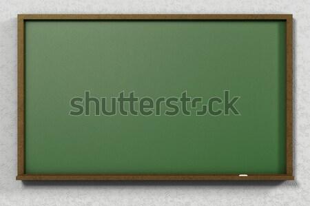 3D classe tableau noir texte espace enseignants Photo stock © IvanC7