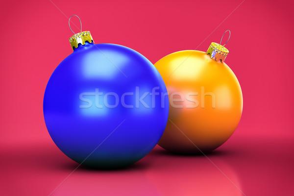 3D aislado Navidad pecado vidrio Foto stock © IvanC7