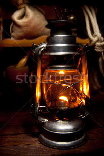 Oil Lamp Stock photo © IvicaNS
