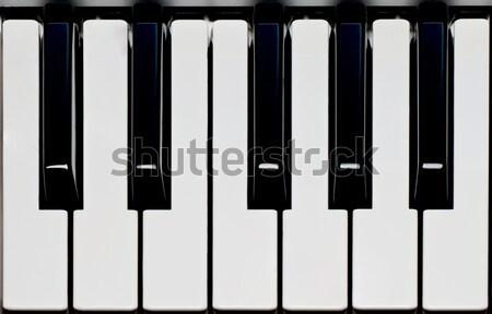 Piano keyboard Stock photo © IvicaNS