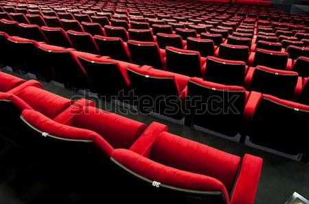Stock fotó: Színház · auditórium · üres · mozi · konferencia · előcsarnok