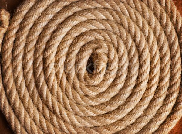 Papel velho corda textura navio retro Foto stock © IvicaNS
