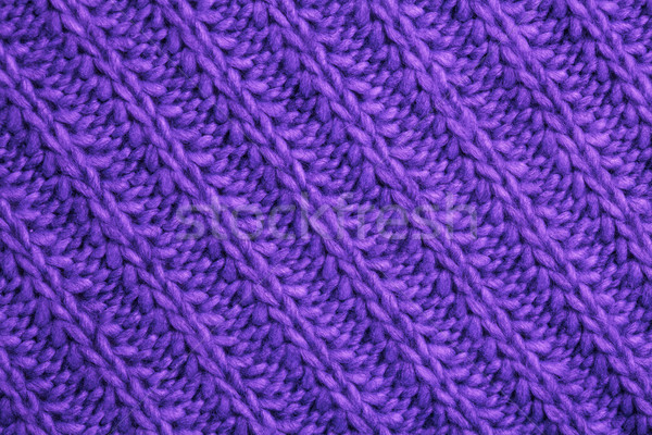 Closeup macro texture of knitted wool fabric Stock photo © IvicaNS