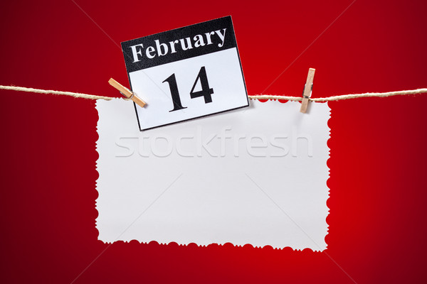 February 14 Valentines day Stock photo © IvicaNS