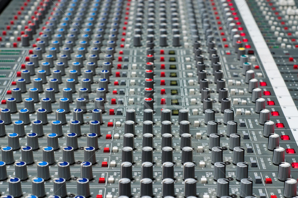 Pro audio mixing board Stock photo © IvicaNS