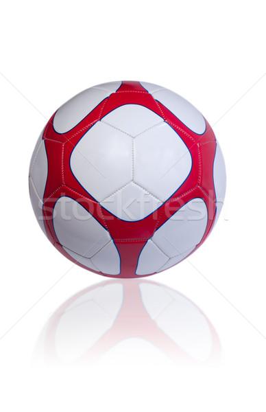 Futballabda izolált fehér futball sport jókedv Stock fotó © IvicaNS