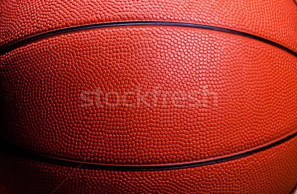 Zárva felfelé kilátás kosárlabda narancs sport Stock fotó © IvicaNS