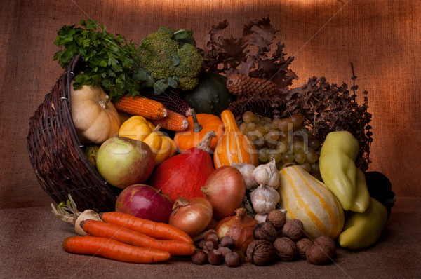Fall cornucopia Stock photo © IvicaNS