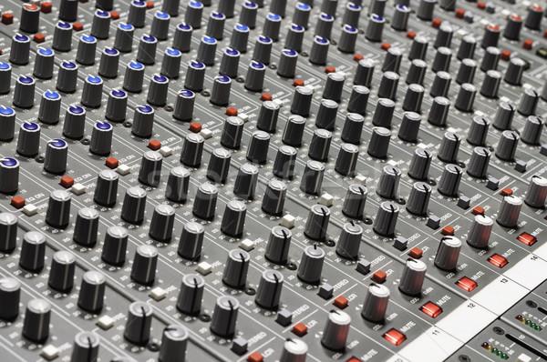Geluid mixer nuttig muziek Stockfoto © IvicaNS